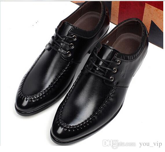 2015 New Men Dress Shoes Fashion Men Oxfords Casual Comfort ...