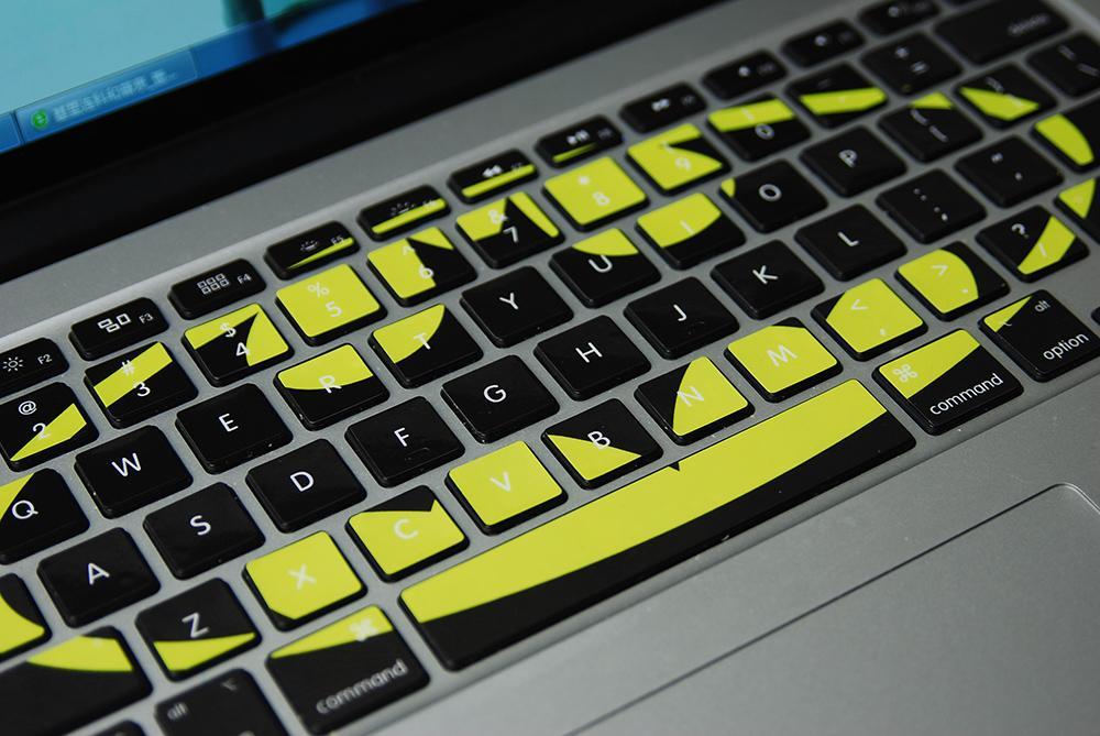 BATMAN-Laptop Skin Decals for Macbook Pro Keyboard Macbook Sticker ...