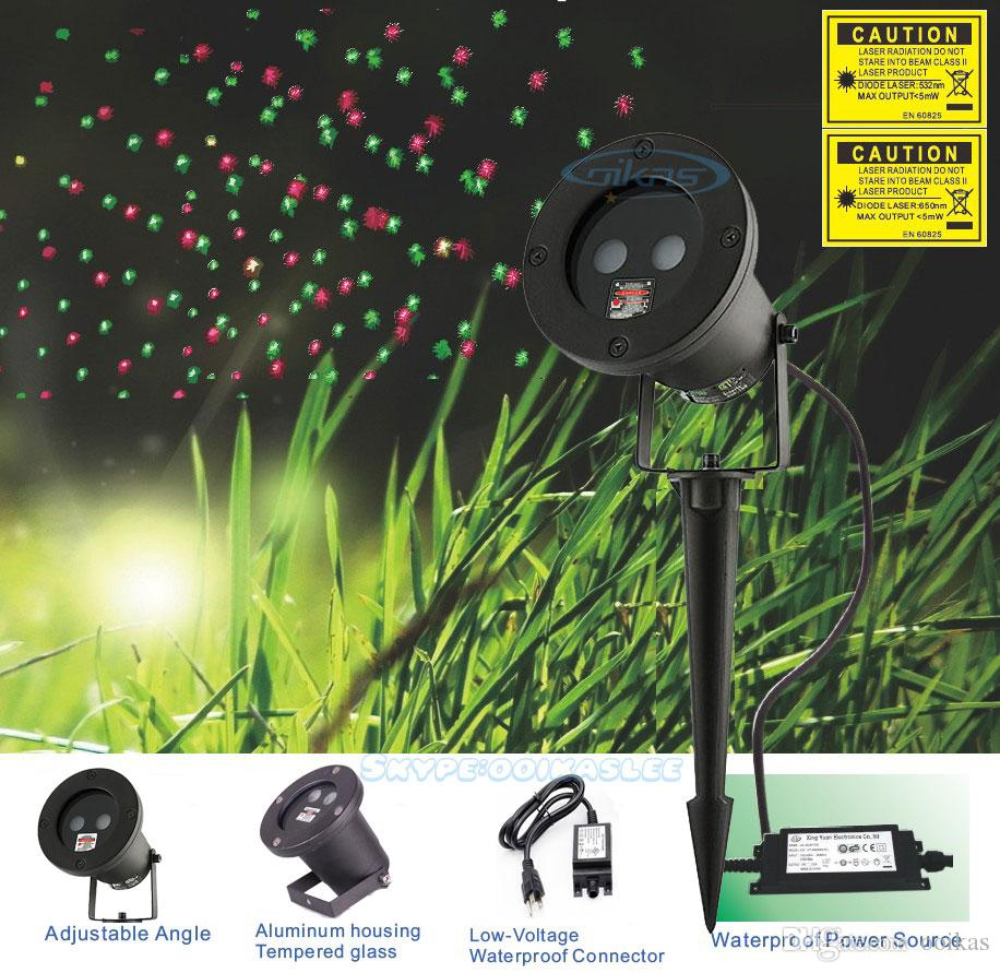 Ip65 outdoor luce laser impermeabile, rosso proiettore laser ...