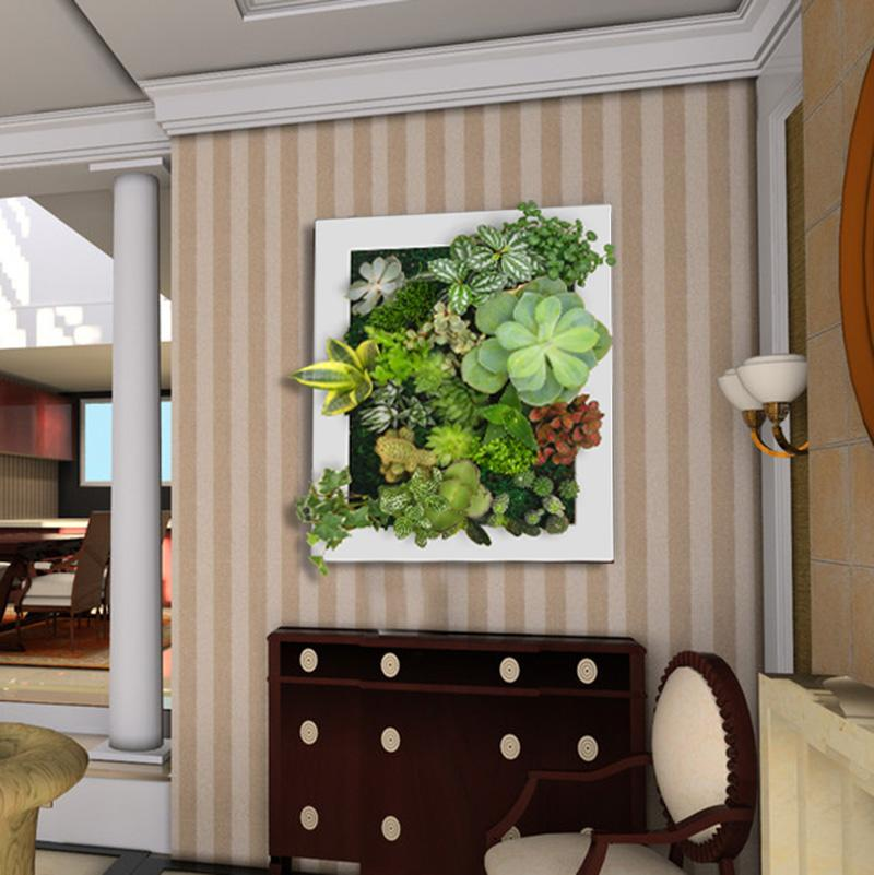 Artificial plants interior design wall decoration for Artificial plants for interior decoration