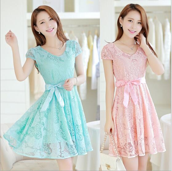 2015 New Fashion Casual Summer Dress Party Dresses Sexy Girl ...