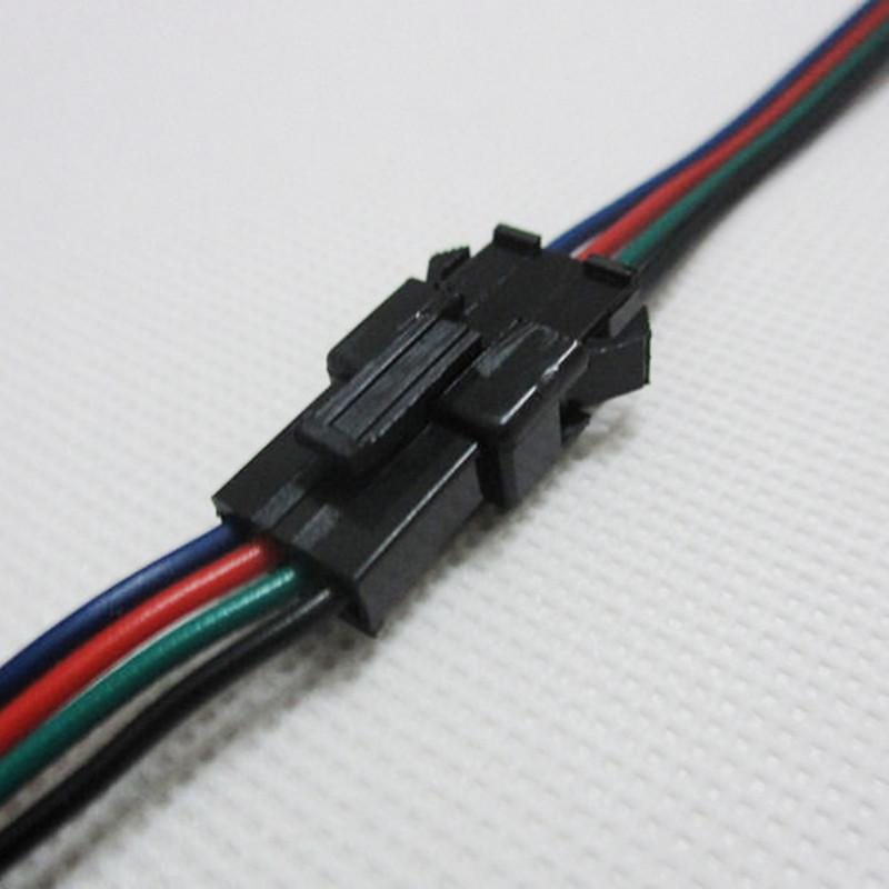 2017 Wholesale 4pin Jst Connector Male Female Cable For