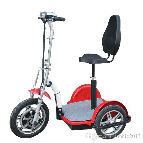 Hot selling powerful three wheel electric tricycle scooter for Motorized scooters for the elderly