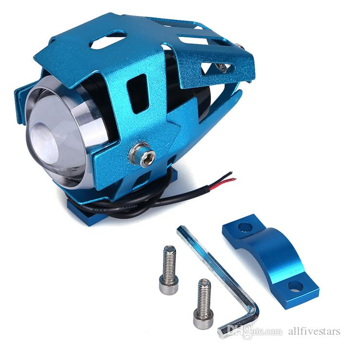NEW Transformer Motorcycle CREE-LED Headlight U5 125W 3000LM Waterproof Motorcycle/Boot LED Headlight High Power Spot Light