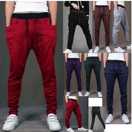 Online Cheap 2015 New Style Men'S Casual Pants Fashion Sports ...