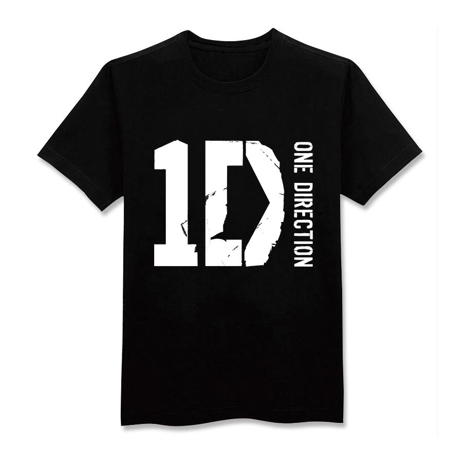 Design t shirt one direction - Free Shipping Summer Men Short Sleeve T Shirts One Direction 1d Fashion Design Shirts Cotton