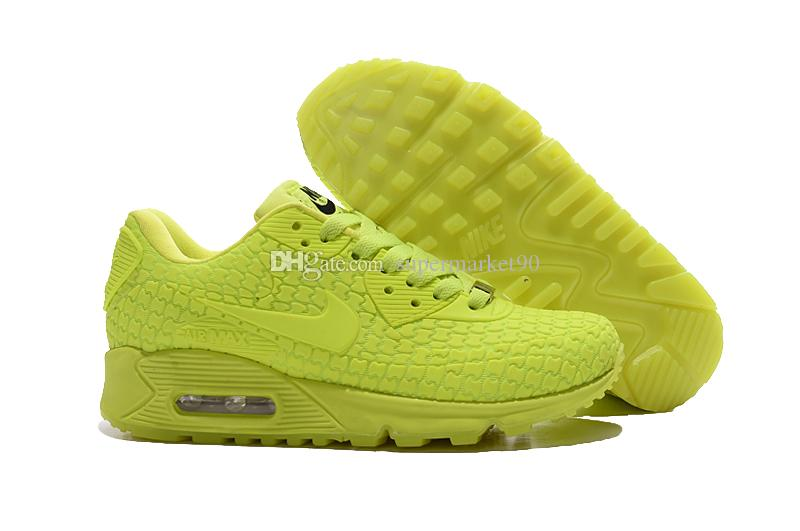 Women Nike Air Max 90 Runing Shoes (GS) Hyper Pink Vivid Pink,Original Quality Women Sports ShoeGS Hyperfuse Premium Shoes from supermarket90, ...