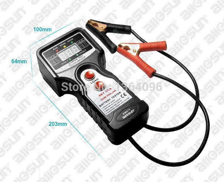 Sun Battery Tester : All sun em automotive battery tester vehicular