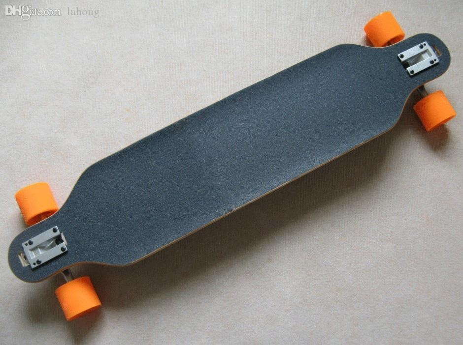 Discount wholesale skateboard bamboo long board cruise for Cheap decking boards for sale