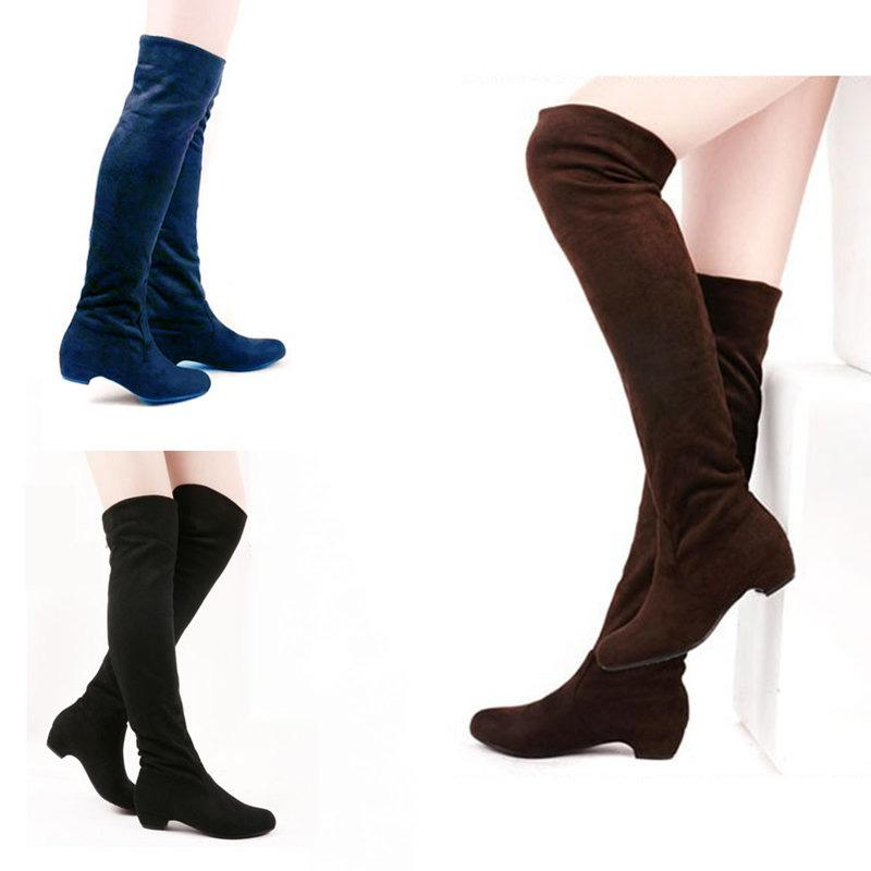 2015 Fashion Shoes Woman Witner Boots Women Boots Long Boots Knee ...