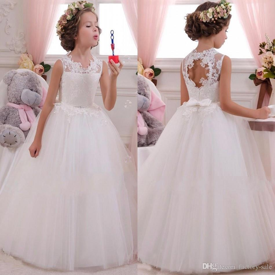 In Stock Flower Girl Dresses Cleveland - Wedding Guest Dresses
