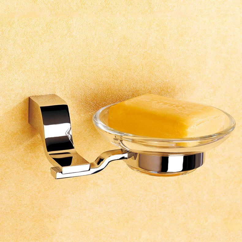 2017 Glass Shower Soap Dishes And Copper Holder With Wholesale Hardware Bathroom Accessories
