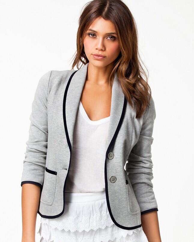 Fashion Women Suits Blouse Slim OL Work Suit 2015 Spring ...