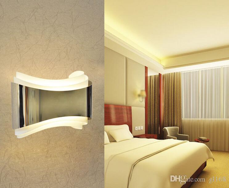 Lámpara de pared LED de luz COB para lámpara de pared diseño ...