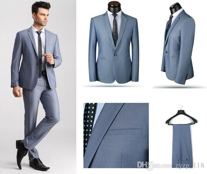 2017 New Style 2015 Men Suits For Wedding Tuxedo Single Breasted