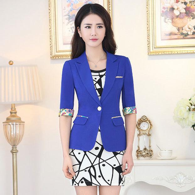 Summer Style Women Print Mini Dress Suits New 2015 Formal Dress ...