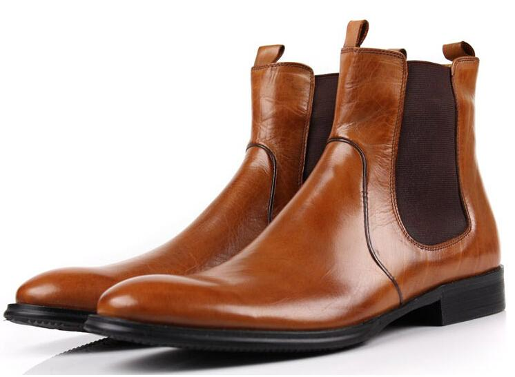 Shoes & Accessories Dress Shoes Men'S Brown High Dress Shoes Mens ...