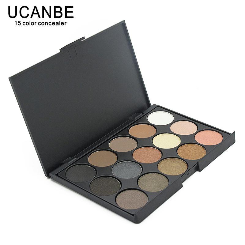 Ucanbe Brand New Fashion 15 Earth Color Matte Pigment Glitter ...