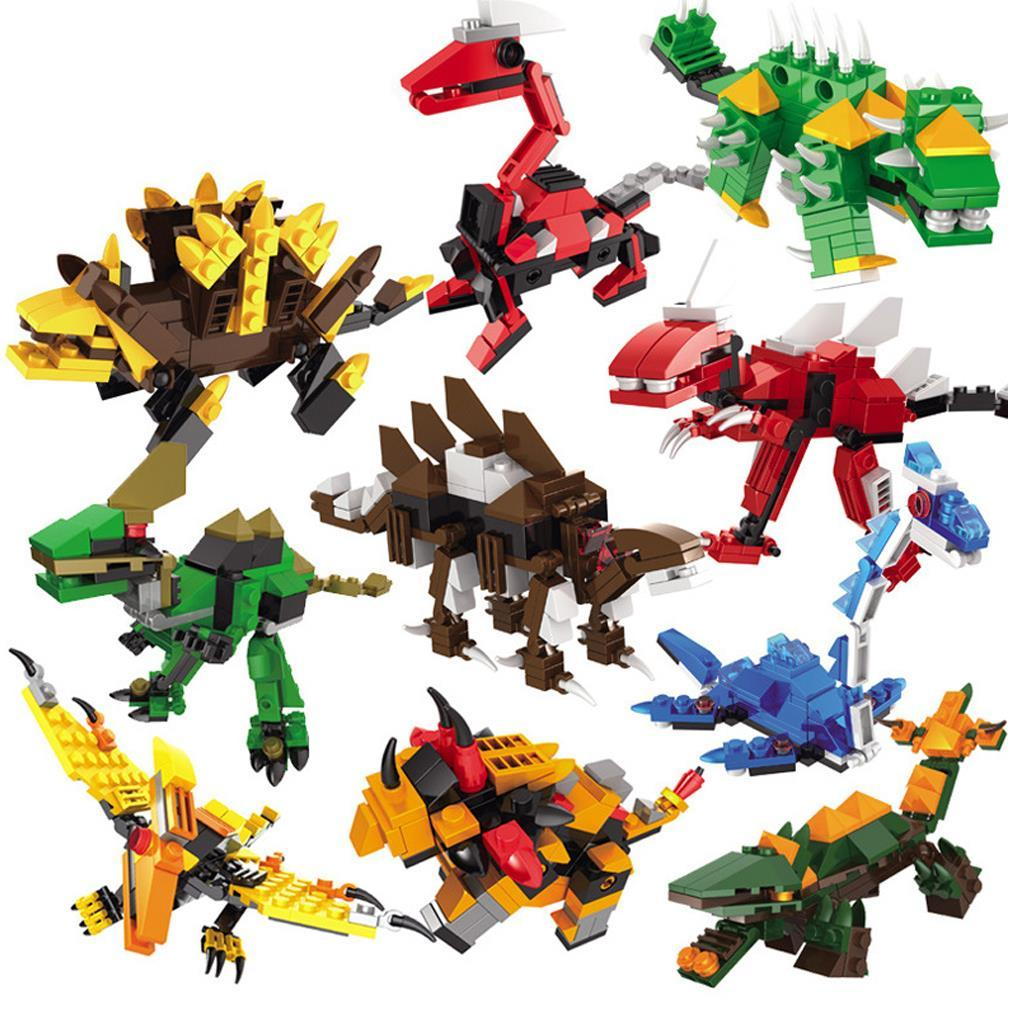 Best quality dinosaur combined transformer mini building - Dinosaure transformers ...