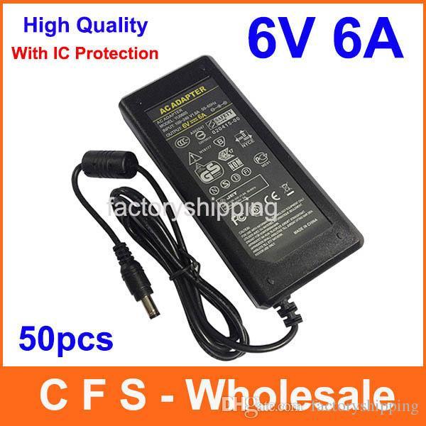 Ac 100v 240v converter dc 6v 6a power supply adapter 6v for Lampen 0 36w 6v