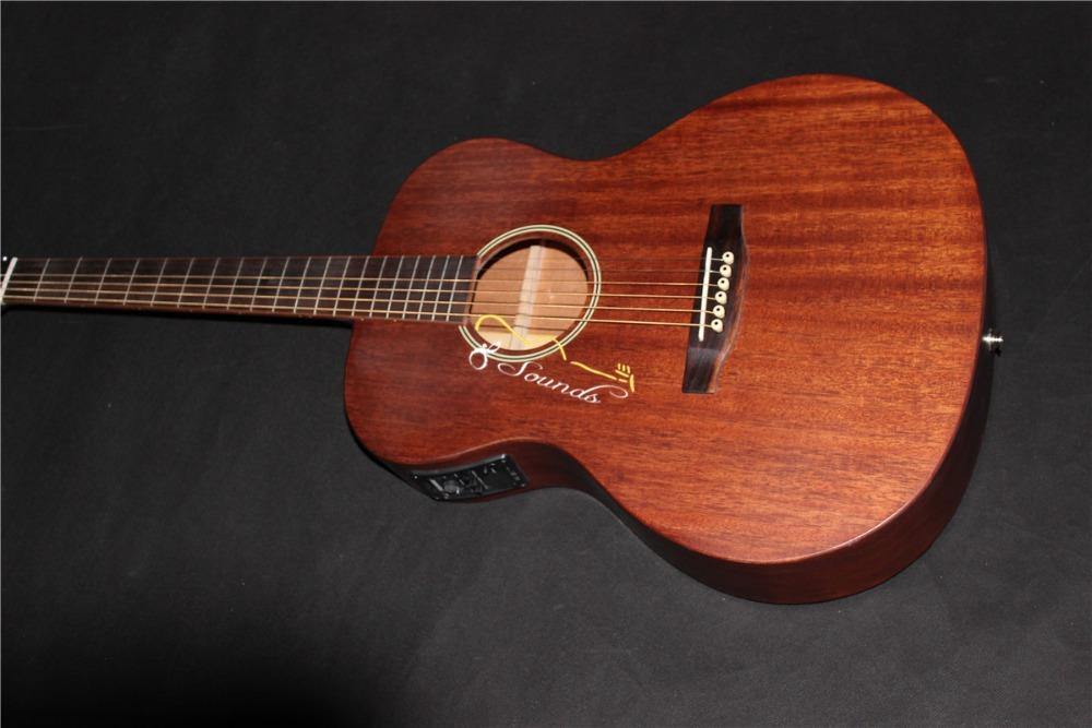 Ooo m guitar oo solid electric acoustic