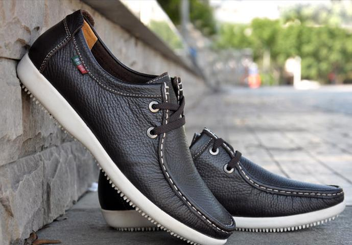 Discount Men's Fashion Shoes Men Genuine Leather Shoes