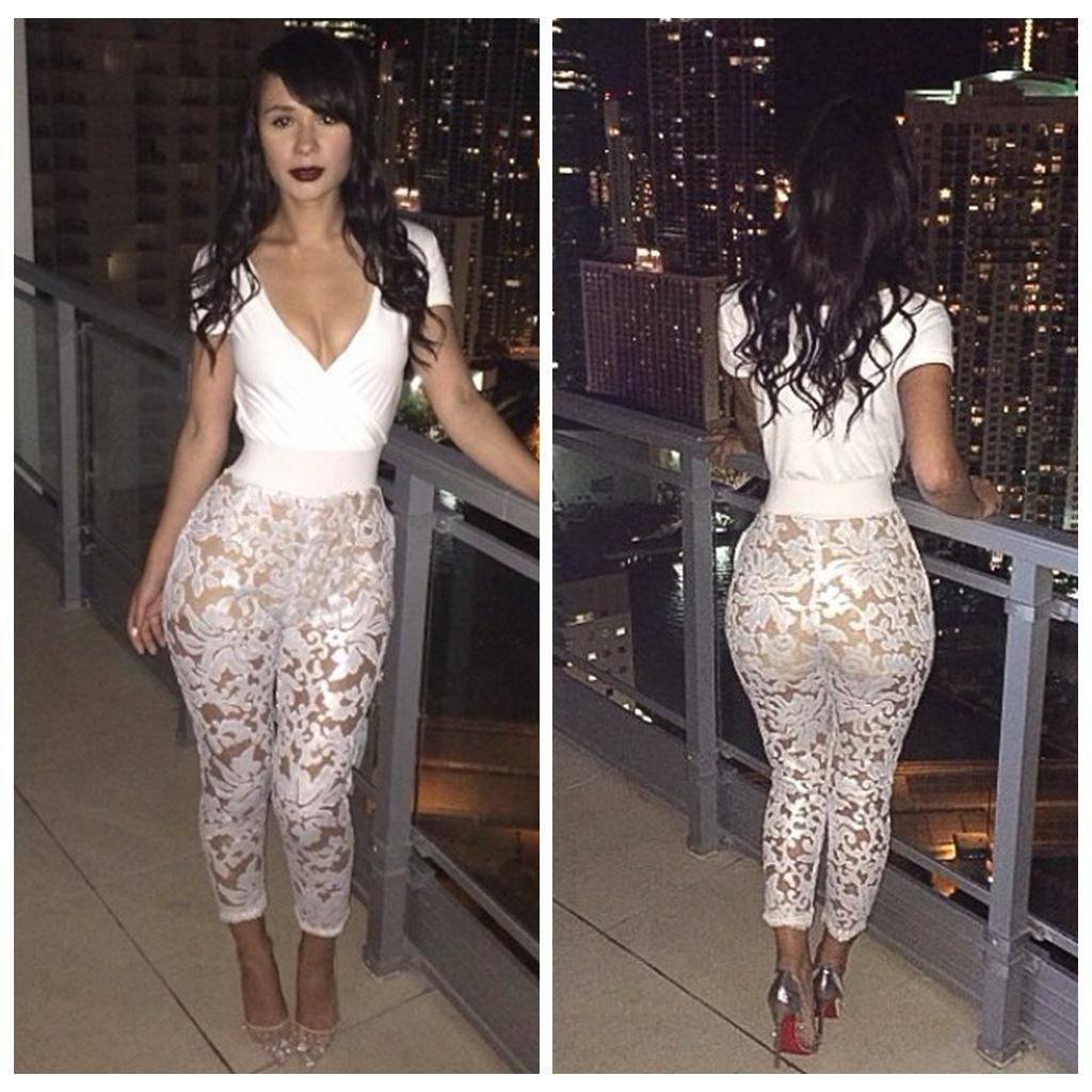 Where to Buy Piece Bodycon Bandage White Jumpsuit Online? Where ...