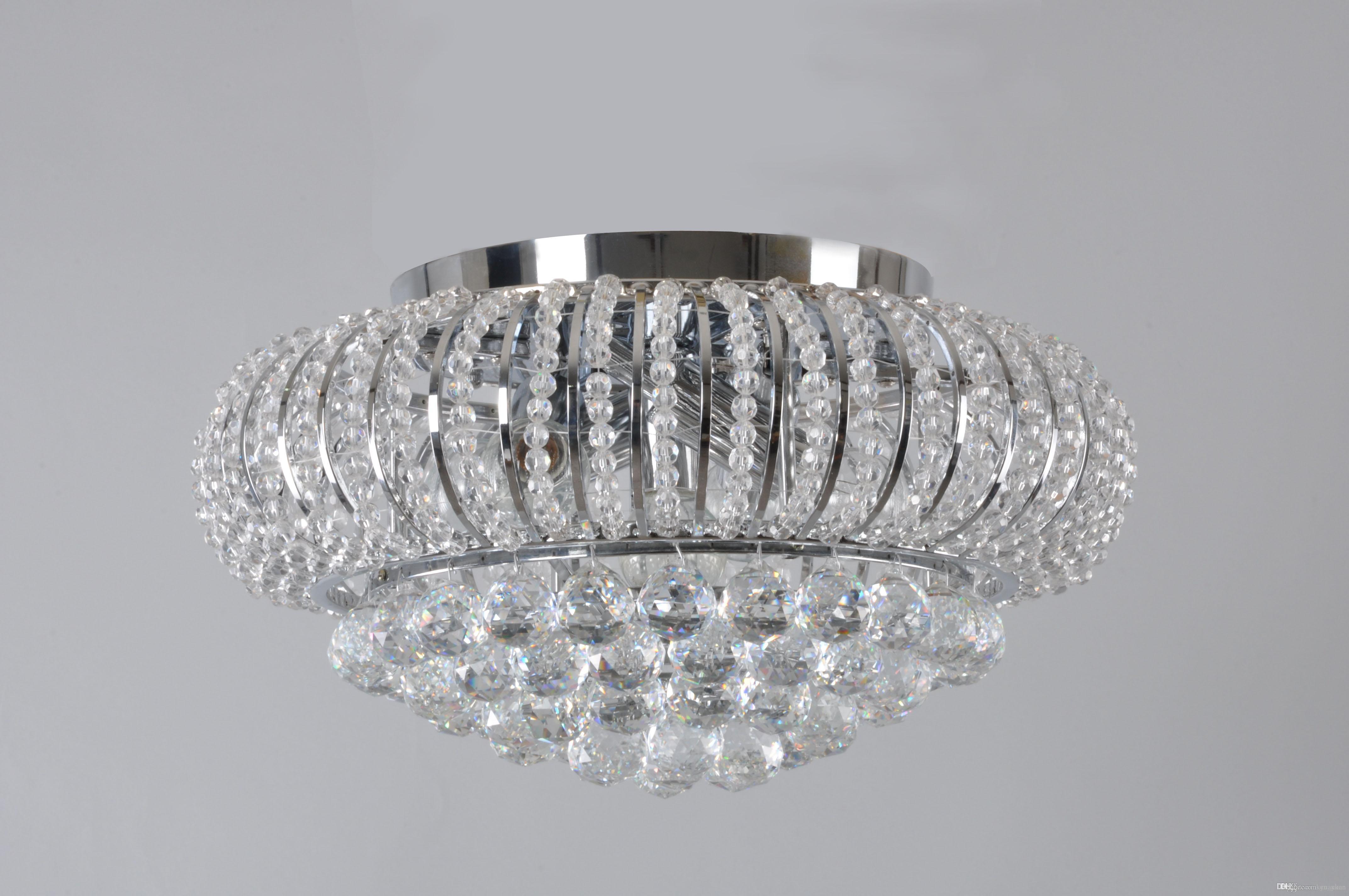 Best Ceiling Lights Living Room Bed Room Crystal Ceiling Lights Star  Shining Crystal 5 Light Flush
