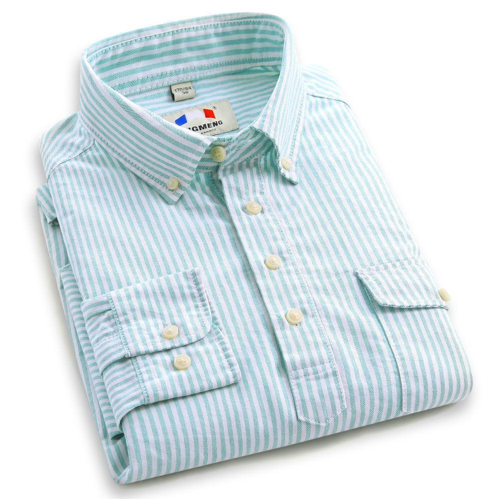 Shirt new design 2015 - 2015 New Design Men Autumn Wear Brand Shirt Oxford Fabric Cotton Business Formal Shirts Top Quality