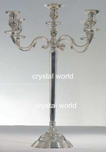 Hotsale 5 Arm Mental Silver Candelabra With Flower Bowl , 12wedding Table  Candelabra Centerpieces Wedding Wholesale Candelabra Centerpiece With  Flower Bowl ...