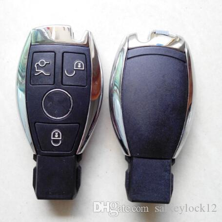 New model benz car key shell mercedes 3 button remote key for Mercedes benz smart key replacement
