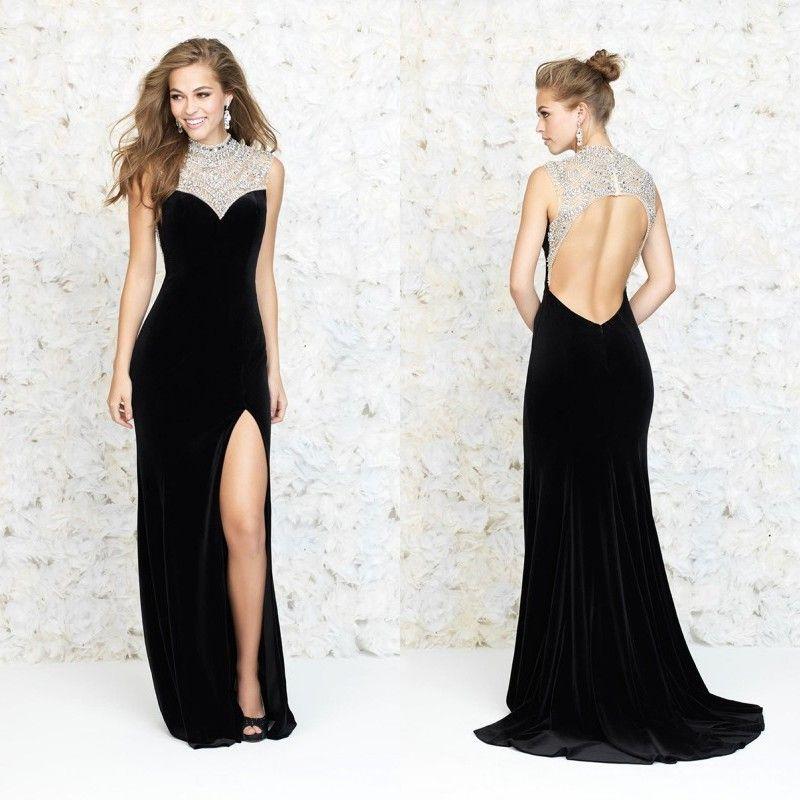 Backless Evening Dresses | crate.tk