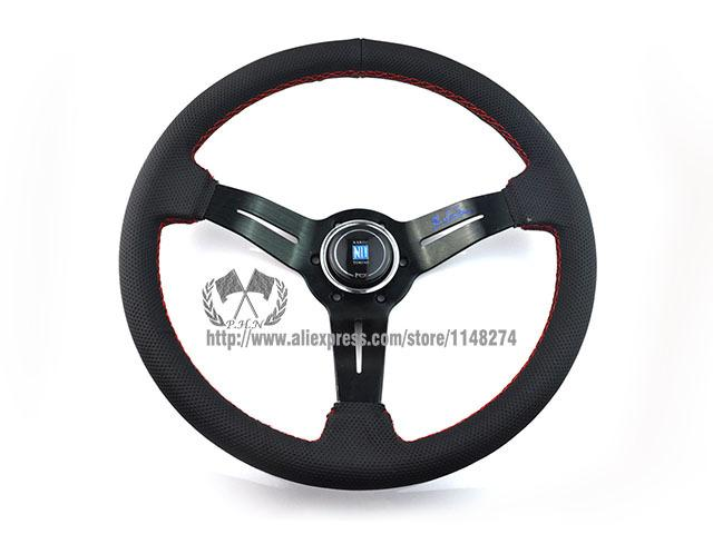 nardi 350mm NOB Classic Suede Steering Wheel / High Quality universal fitment have stock ready to ship
