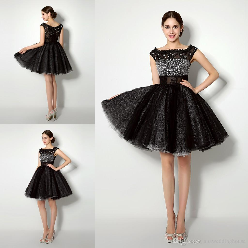 Black Party Frock Designs For Ladies
