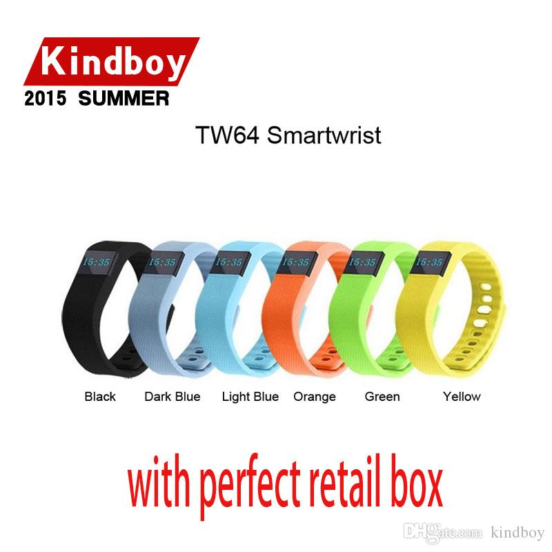activity wrist bands fibit tw64 wristband Smart bracelet Wristband Fitness tracker Bluetooth 4.0 fitbit flex Watch for ios android