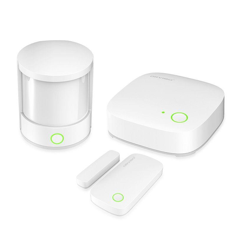 orvibo zigbee home security set zigbee smart hub door sensor motion sensor smart house alarm. Black Bedroom Furniture Sets. Home Design Ideas