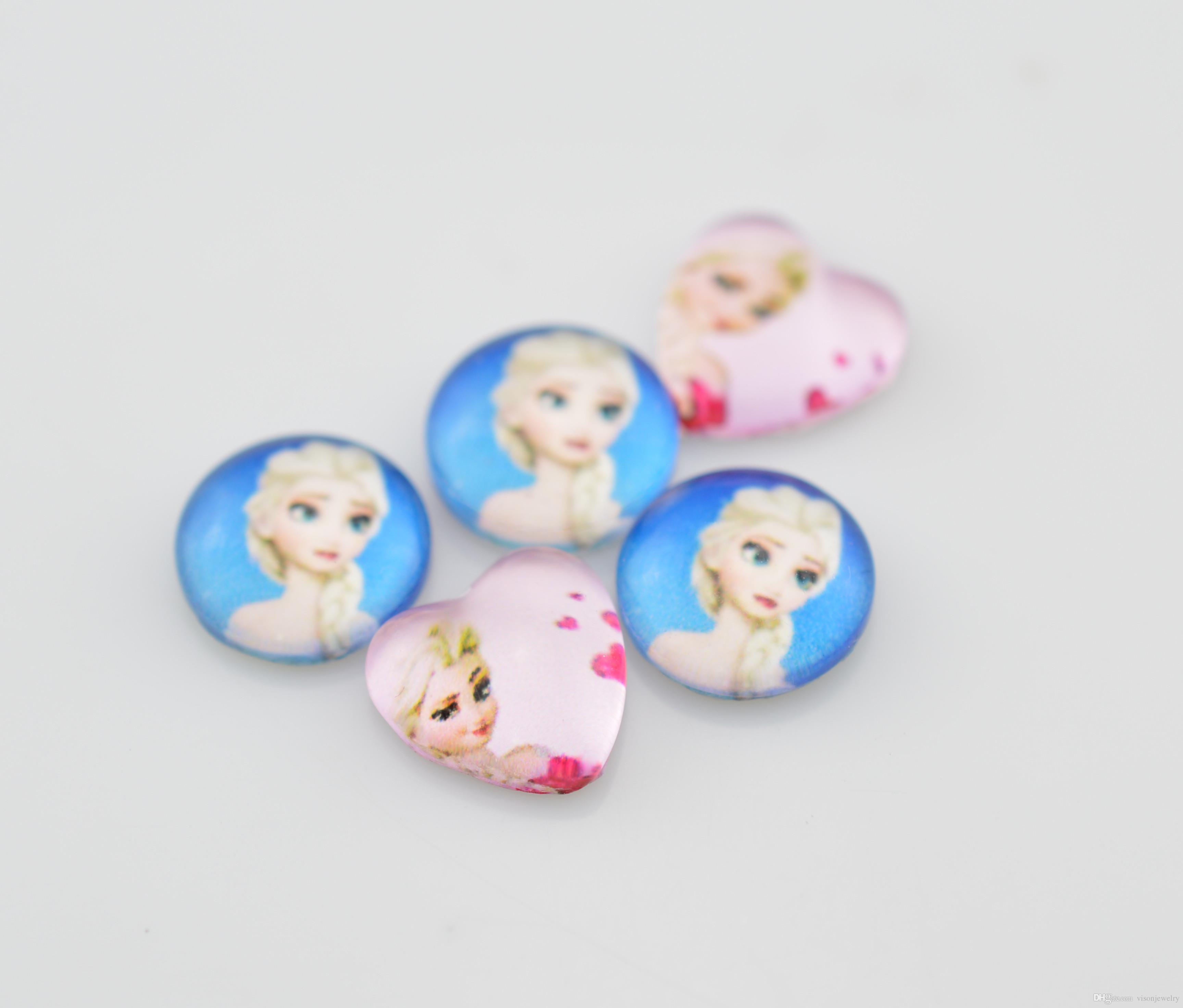 Character Charm Necklace Disney Frozen Character Elsa