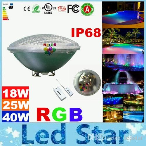 best wholesale high bright 18w 25w 40w rgb underwater led lights, Reel Combo