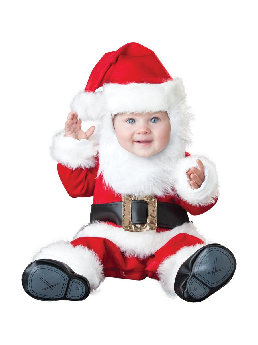 Pin baby christmas santa claus outfit crochet long tail pixie elf hat