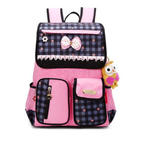 High Quality Girl Orthopedic School Bags Kids Korean Style ...