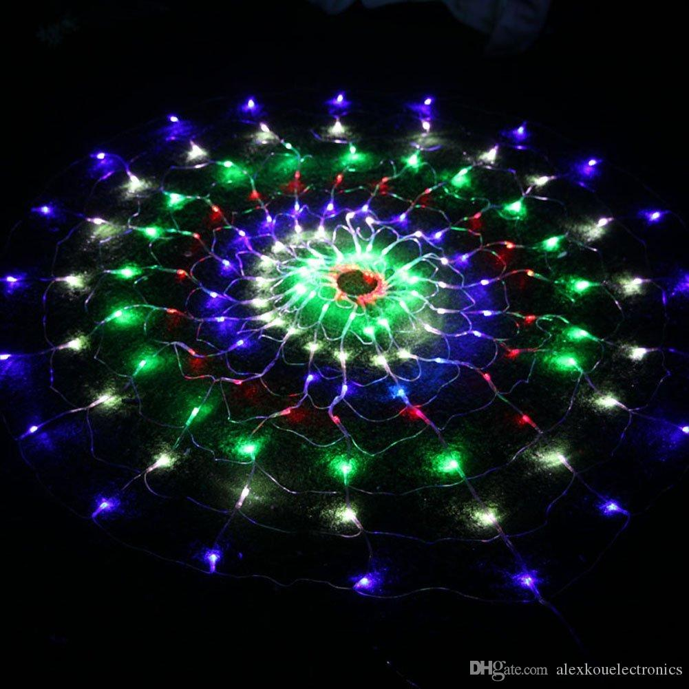 Colorful String Light Lamp Led 8 Modes Flashing Outdoor Net Lights Christmas Xmas Fairy String ...
