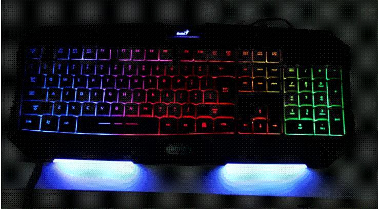 gaming keyboard led