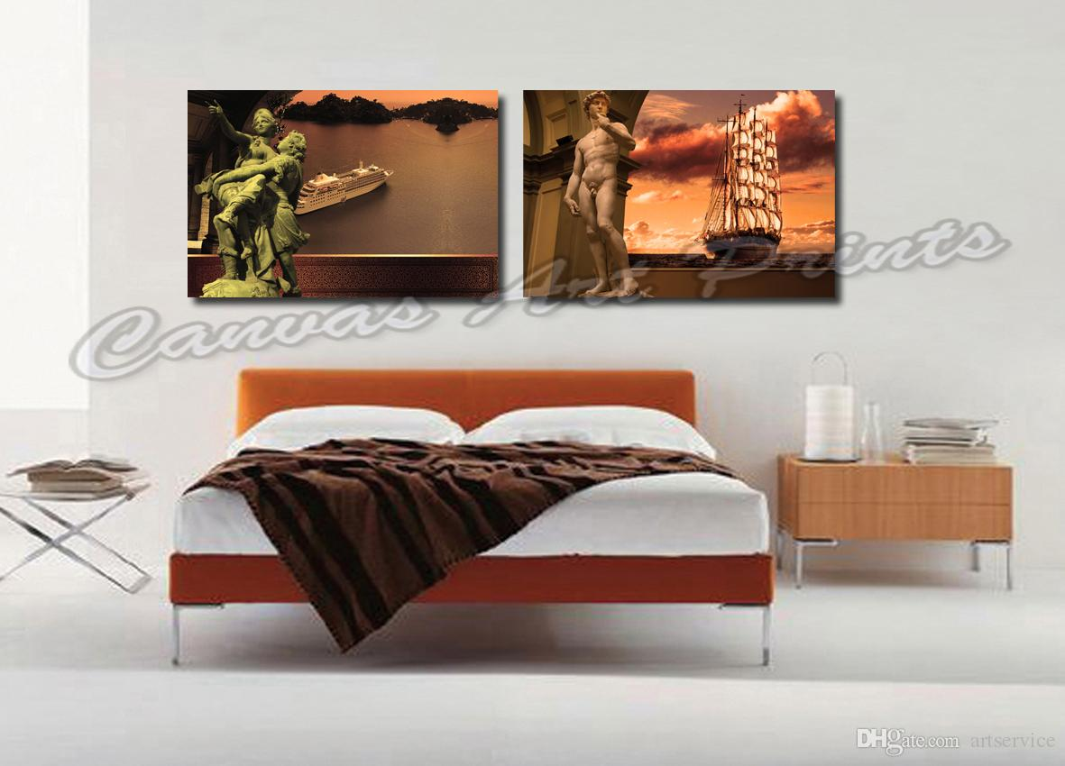 2017 cheap wholesale paintings modern home decor canvas painting figure pictures wall art. Black Bedroom Furniture Sets. Home Design Ideas