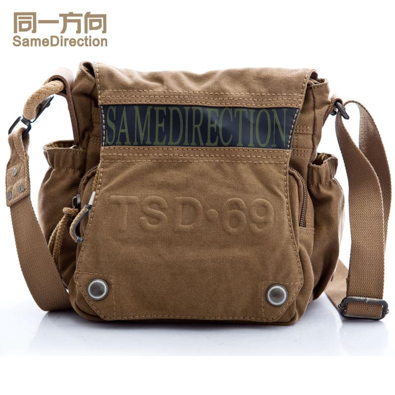 TSD Canvas Crossbody Messenger Bag Laptop Case Handbags for Men ...
