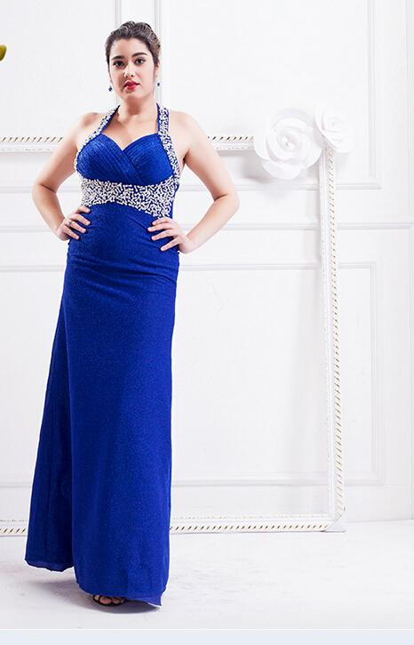 Full Figured Evening Dresses - Boutique Prom Dresses