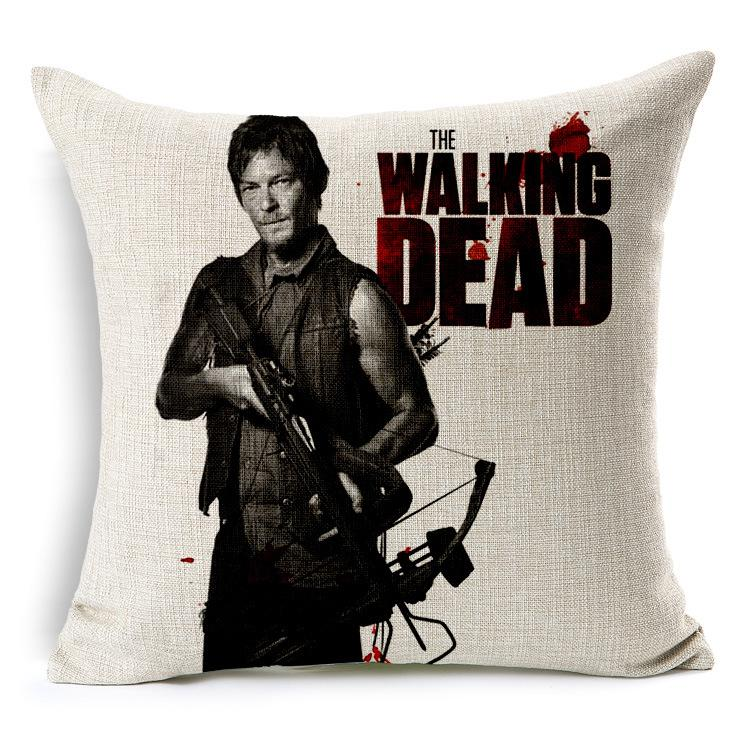 Brand New Walking Dead Space Dance Cars Living Room Cotton