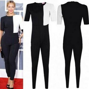 Discount 2014 Bandage Sexy Black White Rompers Womens Jumpsuit ...