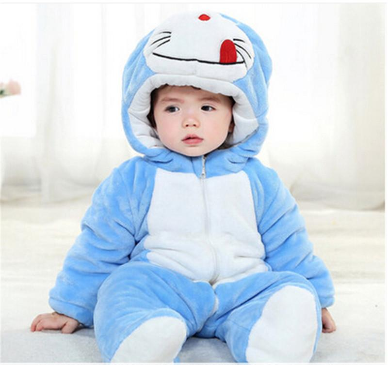 Winter Cute New Warm Anime Costumes Baby Sleepwear Cheap ...