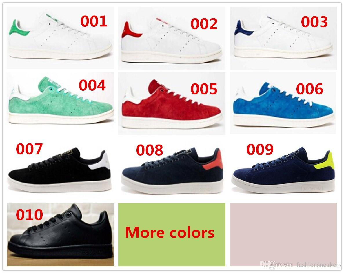 Skate shoes quality - Unisex Classic Design Skate Shoes Best Quality Stan Smith Shoes For Men And Women Star Style