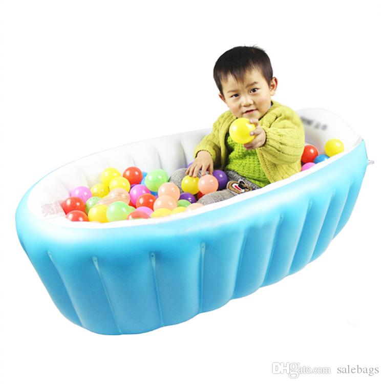 2017 wholesale high quality portable baby kid toddler inflatable bathtub newborn thick green. Black Bedroom Furniture Sets. Home Design Ideas